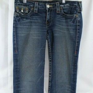True Religion Women's Jeans Straight Size 30